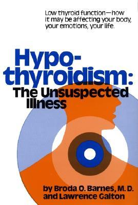 Hypothyroidism By Barnes, Broda O., M.D., Ph.D./ Galton, Lawrence